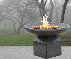 Dunis Stone, New Stone Fire Vessel Collection
