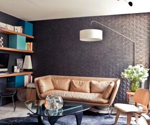 Duplex apartment renovation in Paris by L'Atelier d'Archi