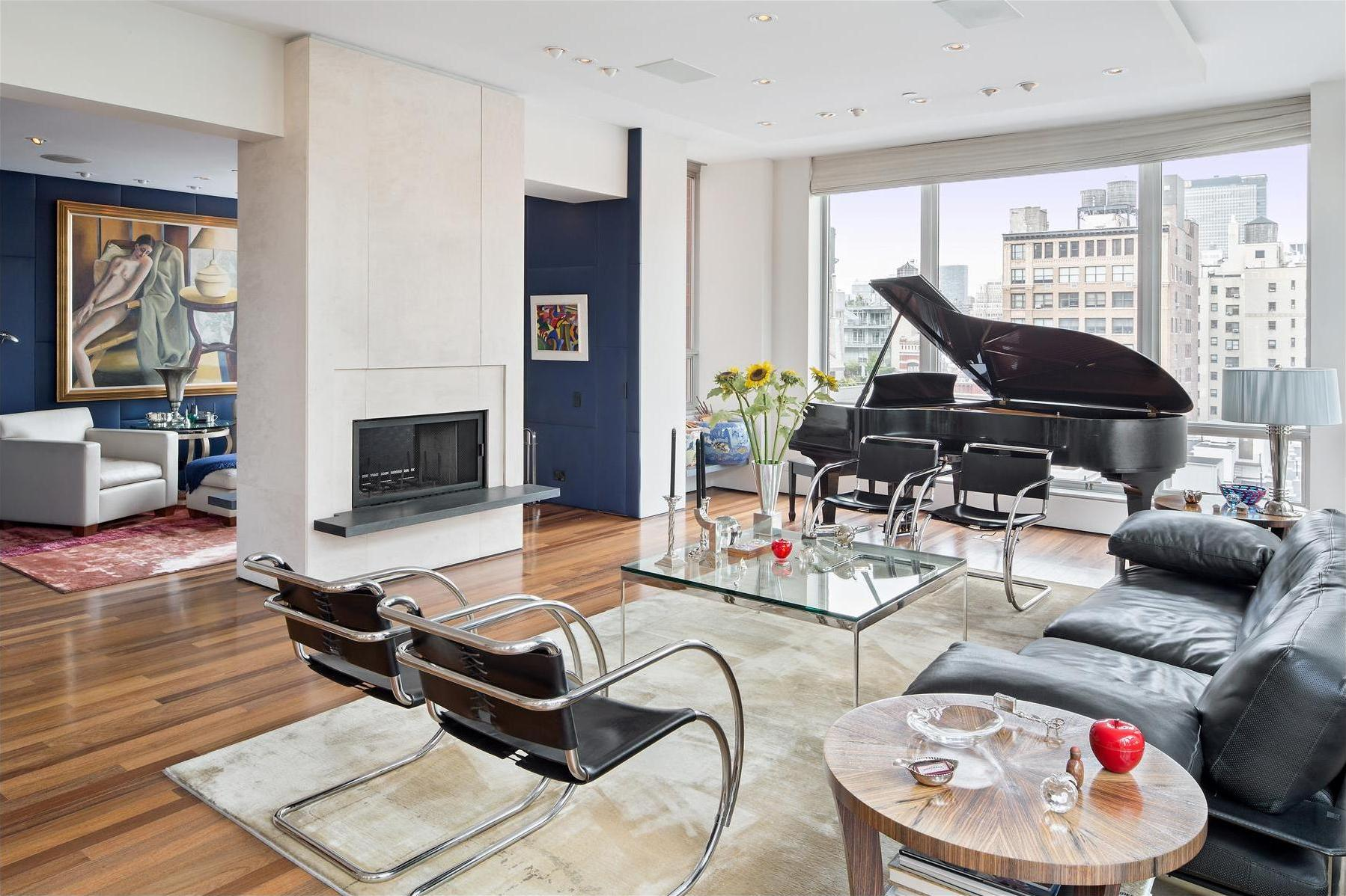 Duplex Penthouse In The Heart Of Chelsea Manhattan - Luxury apartments chelsea