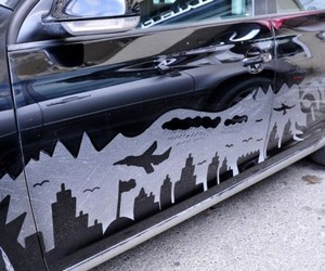 Dust On Cars Transformed Into Artwork