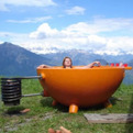 Dutchtub, the portable wood-fired hot-tub