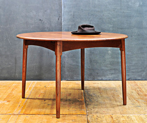 Fifties Wagner Danish Modern Teak Dining Table