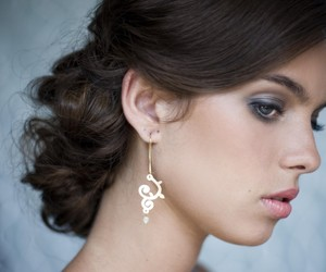 Earrings by Shlomit Ofir