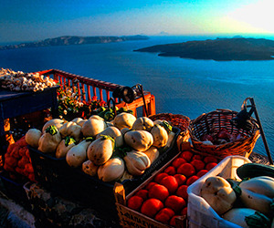 Eat Like a Local in Santorini