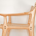 Ebony Dowel Chair by SPD