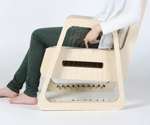 Echoism Guitar Chair by jaeyoung jang