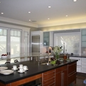 Eclectic Kitchen Design by Danenberg