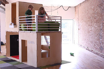 Eco Friendly Modular Playhouses For Kids