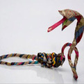 Eco-friendly Sculpture From Discarded Clothes