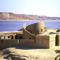 Ecolodge in Egypt by Laetitia Delubac and Christian Félix