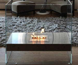 Igloo Fireplace by EcoSmart