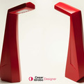 Edge body lamp by Cesar Idrobo