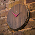 Edge cardboard clock by Liquidesign