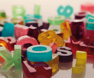 Edible Gelatin Typography