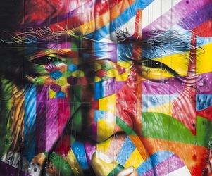 Eduardo Kobra's Mural tribute to Oscar Niemeyer in São Paulo