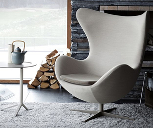 Egg chair | by Arne Jacobsen