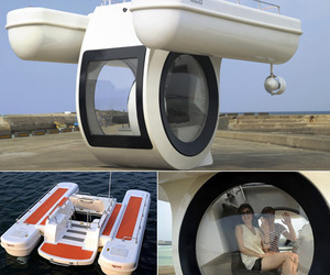 """EGO"" world's first compact semi submarine"