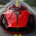 Electric Ferrari Millenio Concept Car