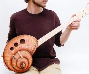 Electric Snail Guitar