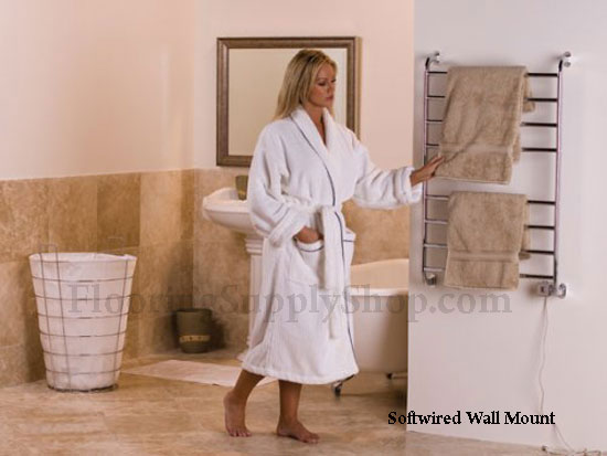. Electric Towel Warmers and Drying Rack Heaters