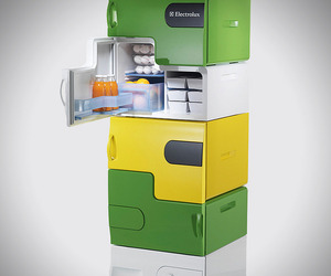Electrolux Design Lab's 'Flatshare' Fridge