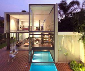 Elegant Home in La Planicie by Doblado Arquitectos