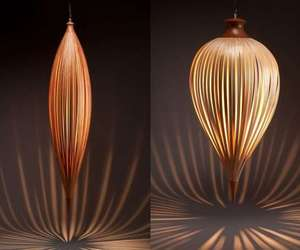 Elegant Lighting: Pendants Plumb Lamp by Peter Pierobon