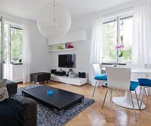 Elegant Turquoise Apartment