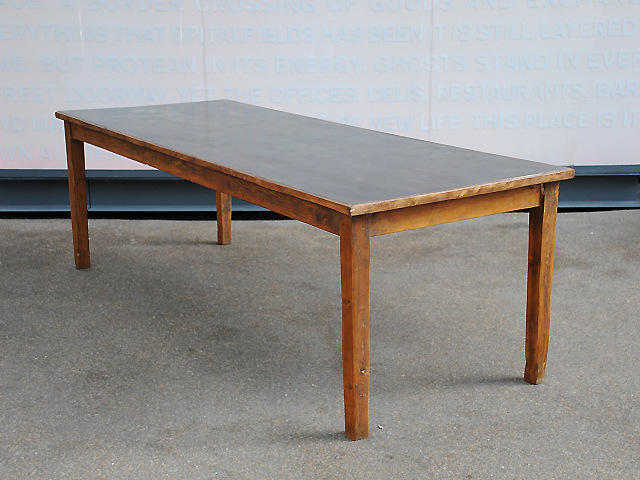 Elemental 1950s Vintage Dining Table