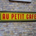 elemental | Au petit café sign