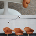 elemental | Lubke Swivel chair