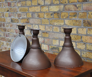 elemental | Set of 4 Holaphane Lamps