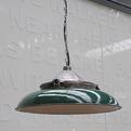 elemental | Vintage Enamel Pendant Lamp