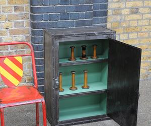 elemental | Vintage Industrial Metal Cabinet