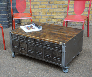 elemental | Wide Drawer Coffee Table