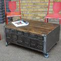 elemental   Wide Drawer Coffee Table