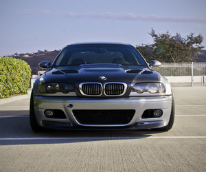 Elex's Silver Grey E46 BMW M3