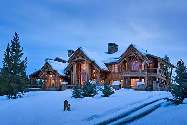 Elk Ridge Lodge In Big Sky By Centre Sky Architecture