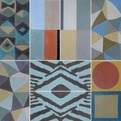 Encaustic Cement Tile from Laura Gottwald