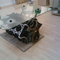 Engine Coffee Table by Greg Melartin