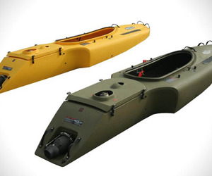 Engine Powered Kayaks by Mokai