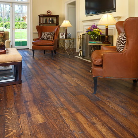 Engineered Distressed Oak Flooring