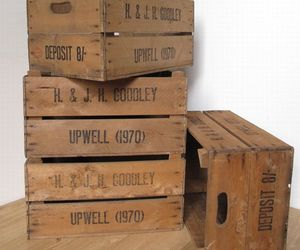 English apple crates