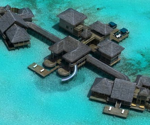 Escape to the tropical island of Lankanfushi