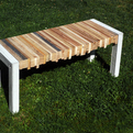 Essences, a concrete/wood bench by a&ré design