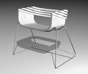 Etch Chair by Elizabeth Cordes