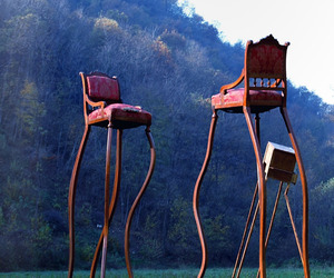 EVNI giant furniture by Umberto Dattola