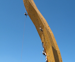 Excalibur, The World's Tallest Climbing Wall