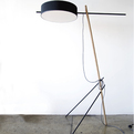 Excel Floor Lamp by Rich Brilliant Willing