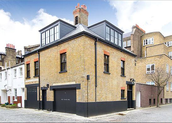 Exceptional london mews house by jonathan reed for House design london